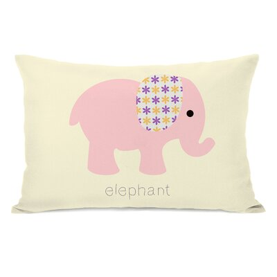 Eliana Elephant Lumbar Pillow
