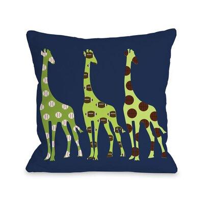 Giraffe Pillow Size: 26 H x 26 W x 6 D
