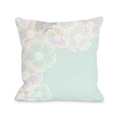 Bloom Border Throw Pillow