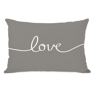 Love Mix and Match Fleece Lumbar Pillow