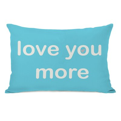 Love You Lots/Love You More Reversible Lumbar Pillow