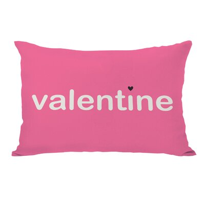 Be Mine/Valentine Reversible Lumbar Pillow