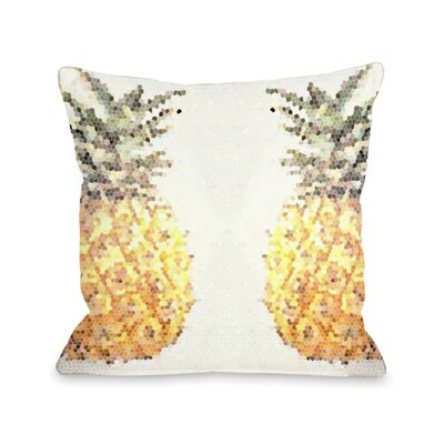 Pineapple Half Throw Pillow