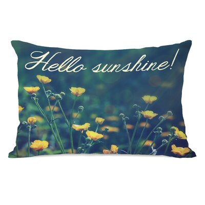 Hello Sunshine Lumbar Pillow