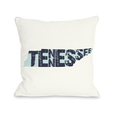 Tennessee State Throw Pillow
