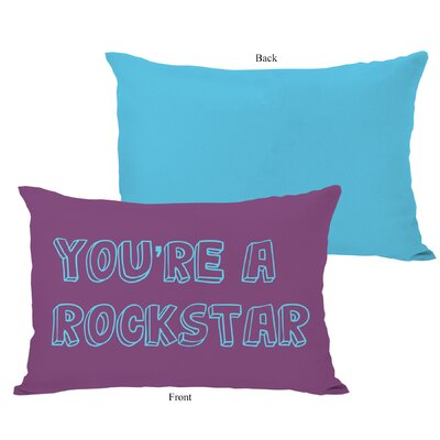Youre a Rockstar Lumbar Pillow