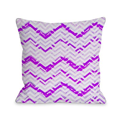 Zoe Zig Zag Throw Pillow