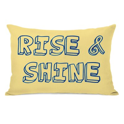Rise & Shine Lumbar Pillow