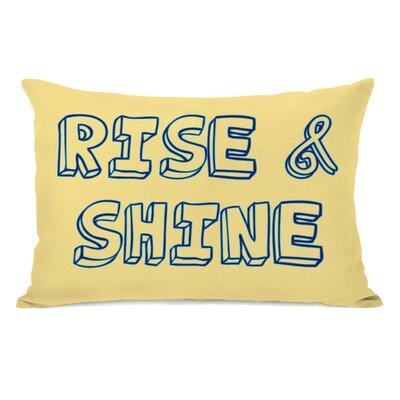 Rise & Shine Lumbar Pillow