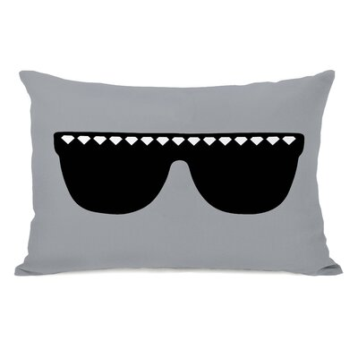 Diamond Sunglasses Lumbar Pillow