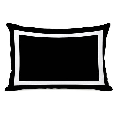 Biller Outdoor Lumbar Pillow Color: Black