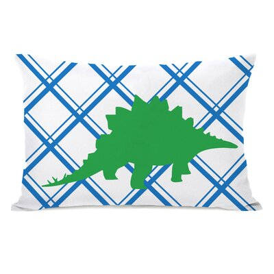 Stegosaurus Lumbar Pillow