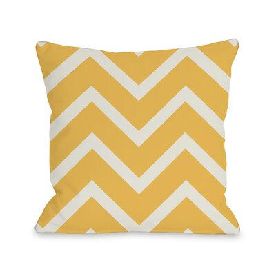 Sophia Chevron Throw Pillow Size: 18 H x 18 W x 3 D