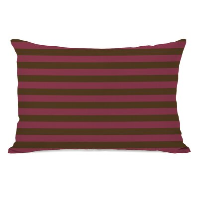 Plain Stripe Throw Pillow