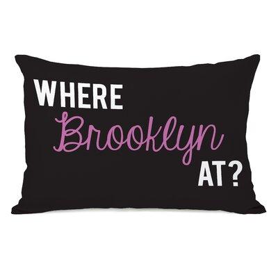 Where Brooklyn At Lumbar Pillow