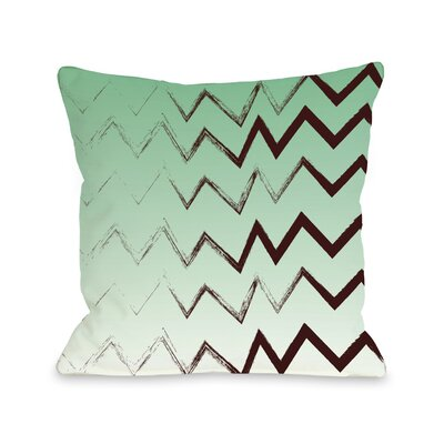 Charlie Bristle Chevron Throw Pillow