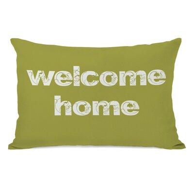 Welcome Home Lumbar Pillow