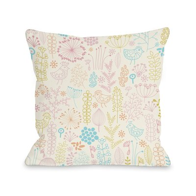 Jennas Playground Throw Pillow Size: 18 H x 18 W