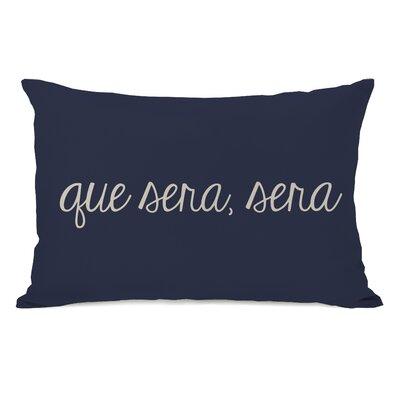 Que Sera Sera Geometric Lumbar Pillow