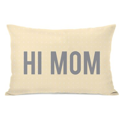 Hi Mom Lumbar Pillow