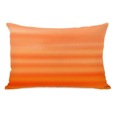 Tangerine Ombre Lumbar Pillow