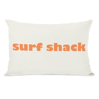Surf Shack Lumbar Pillow