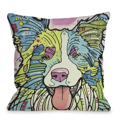 Doggy D�cor Colly Throw Pillow