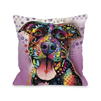Doggy D�cor Ms. Understood Throw Pillow