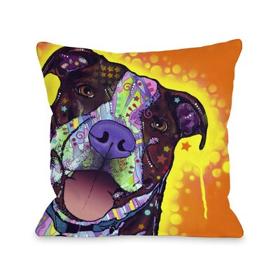 Doggy D�cor Daisy Pit Throw Pillow
