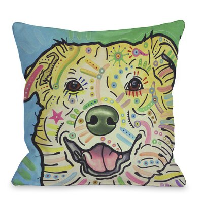 Doggy D�cor Maude Throw Pillow
