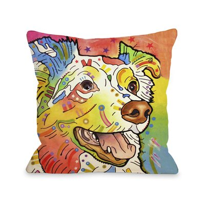 Doggy D�cor Dakota Throw Pillow Size: 18 x 18