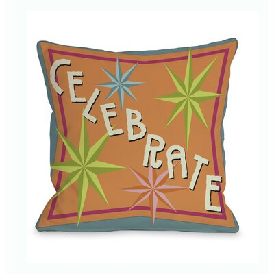 Celebrate Bright Stars Throw Pillow
