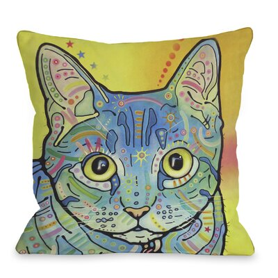 Vintage Maya Throw Pillow Size: 18 H x 18 W