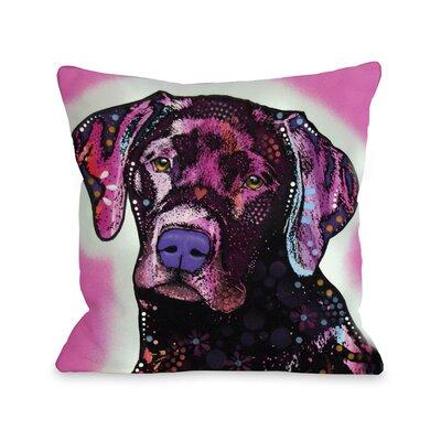 Doggy D�cor Lab Throw Pillow