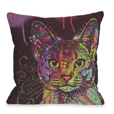 Doggy D�cor Abyssinian Throw Pillow Size: 18 x 18