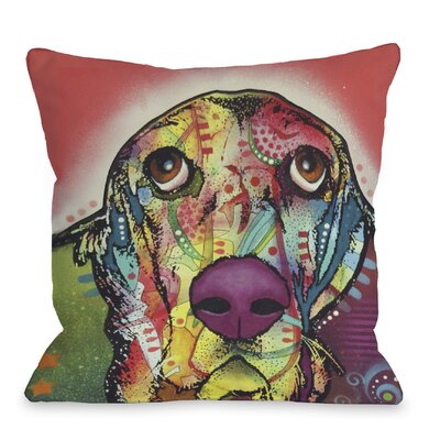 Doggy D�cor Basset Throw Pillow