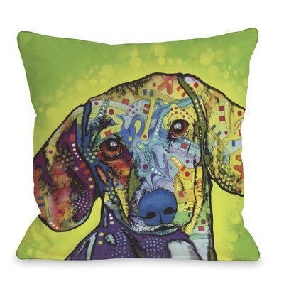 Doggy D�cor Dsachshund Throw Pillow
