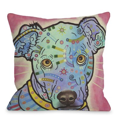 Doggy D�cor Leer Throw Pillow