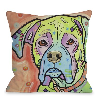 Doggy D�cor The Boxer Throw Pillow