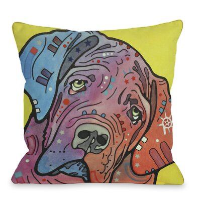 Doggy D�cor The Bully Throw Pillow