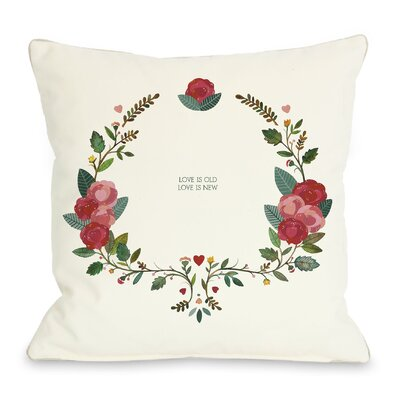Love is Old Love is New Throw Pillow