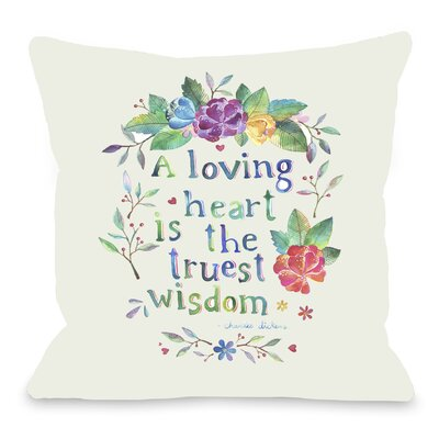 Loving Heart Throw Pillow