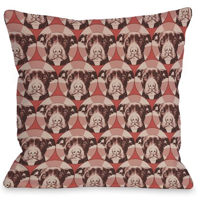 Doggy D�cor Love a Bull Throw Pillow