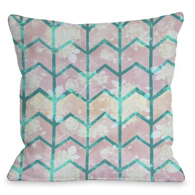 Ombre Chevron Throw Pillow