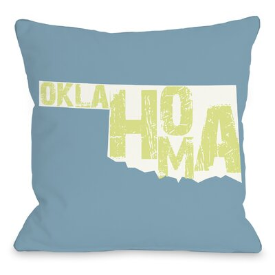 Oklahoma State Throw Pillow