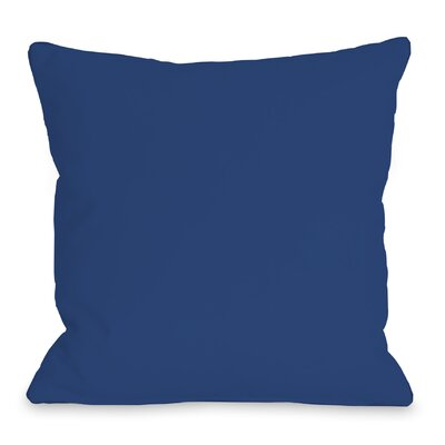 All Over Stars Throw Pillow Size: 18 H x 18 W, Color: Blue