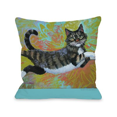 Doggy D�cor She Flies Throw Pillow