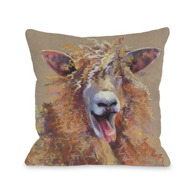 Doggy D�cor Party Sheep Throw Pillow