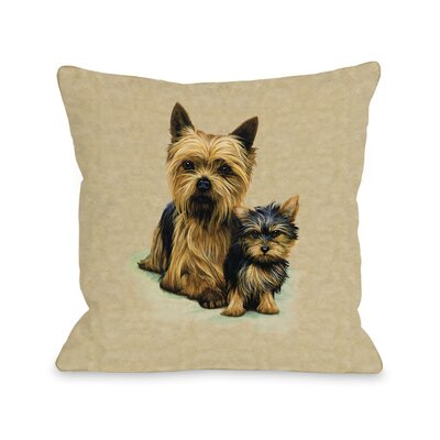 Doggy Decor Yorkshire Terrier Pillow