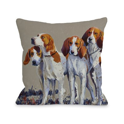 Doggy D�cor Hound Pack Throw Pillow